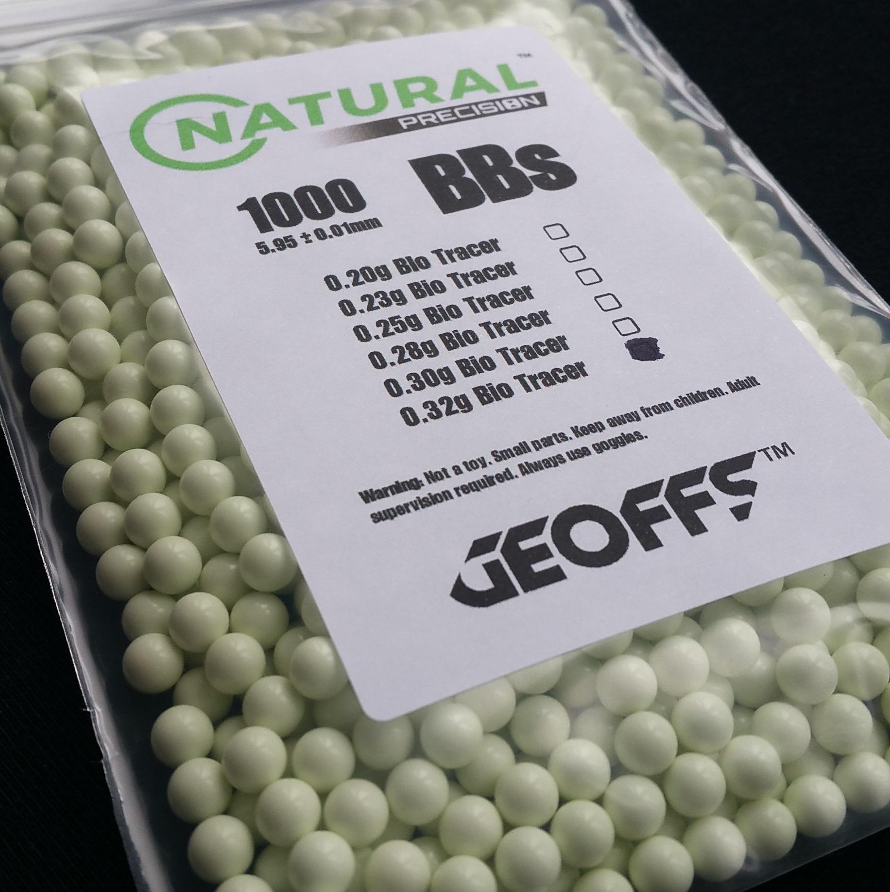GEOFFS™ PRECISION™ AIRSOFT BBS 0.28g 3000rd